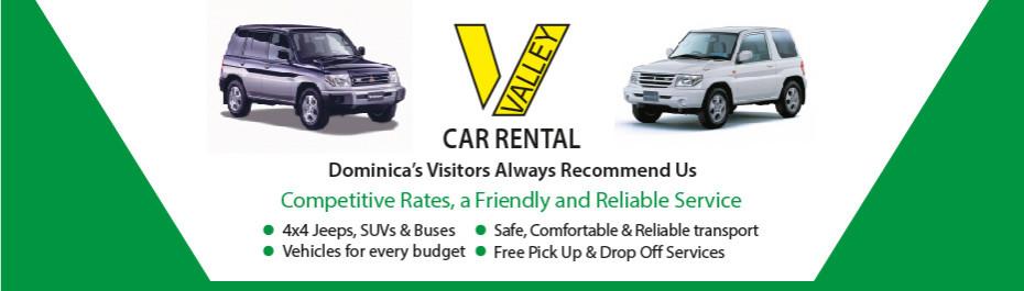 Valley Car Rental Dominica