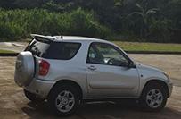 Toyota Rav3 - 3 Door Jeep - Valley Car Rental Dominica