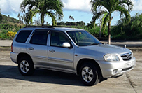 Mazda Tribute 5 Door Jeep - Valley Car Rental Vehicles and Rates Dominica