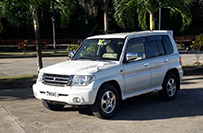 Mitsubishi IO 5 Door Jeep - Valley Car Rental Dominica