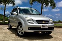 Chevrolet Cruz 5 Door Compact Car - Valley Car Rental Dominica